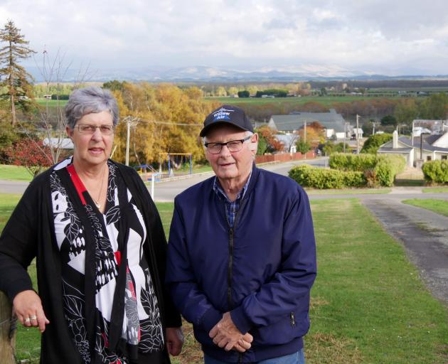 Former Kaitangata school principal Joyce Beck (69) and coal miner Fred Uren (82) say their...