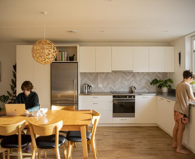 Inside, there is some ''standardisation'', but residents chose their own flooring, lighting, wall...
