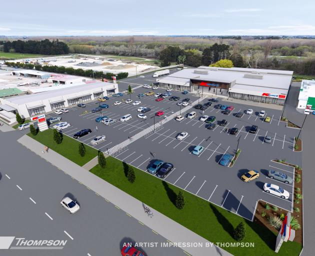 An artist's impression of the planned new Kmart. Image: Tricroft Properties