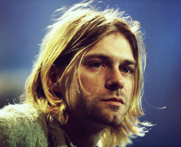 Kurt Cobain's angst-filled lyrics and his band's powerful, dark rock struck a chord with young...