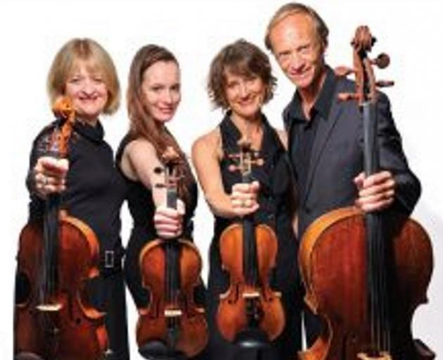 The New Zealand String Quartet. Photo: supplied