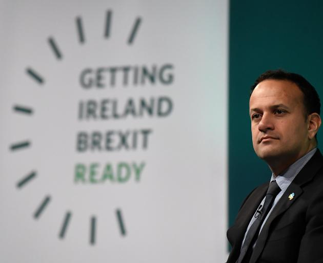 Irish Prime Minister Leo Varadkar. Photo: Reuters