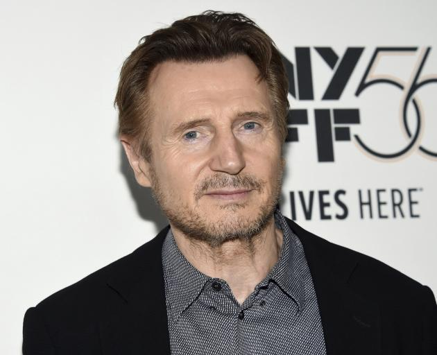 Liam Neeson says he's had time to reflect on his comments. Photo: AP