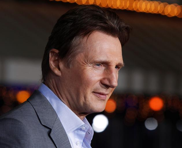 Liam Neeson says he is not a racist. Photo: Reuters