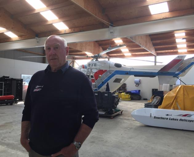Lloyd Matheson, a winch operator at Southern Lakes Helicopters, was supposed to be on yesterday's...