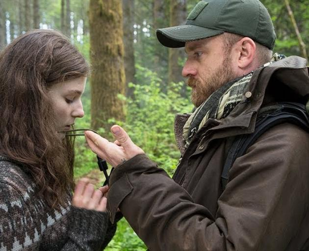 Thomasin Harcourt McKenzie and Ben Foster star in Debra Granik's Leave No Trace. Image: supplied