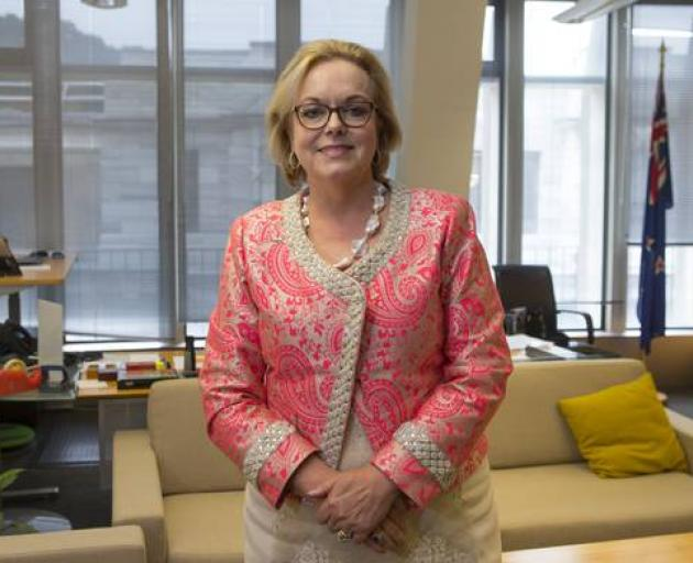 Judith Collins is now National's fourth-ranked MP. Photo: NZ Herald