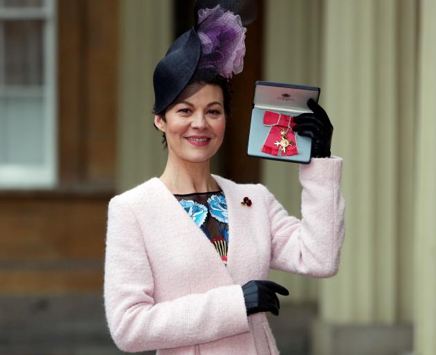 Helen McCrory was awarded an OBE in 2017. Photo: Reuters (file)