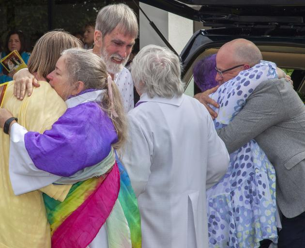 Megan said people were to wear bright colours at her funeral to celebrate her life. Photo: Geoff...