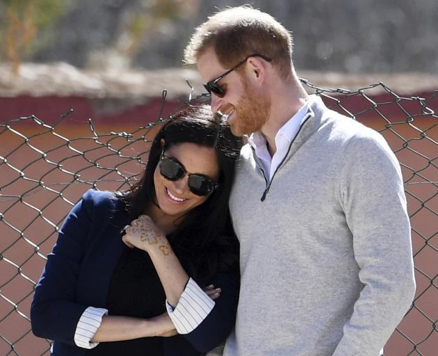 Harry and Meghan haven't announced the baby's gender or the due date, which is widely believed to...