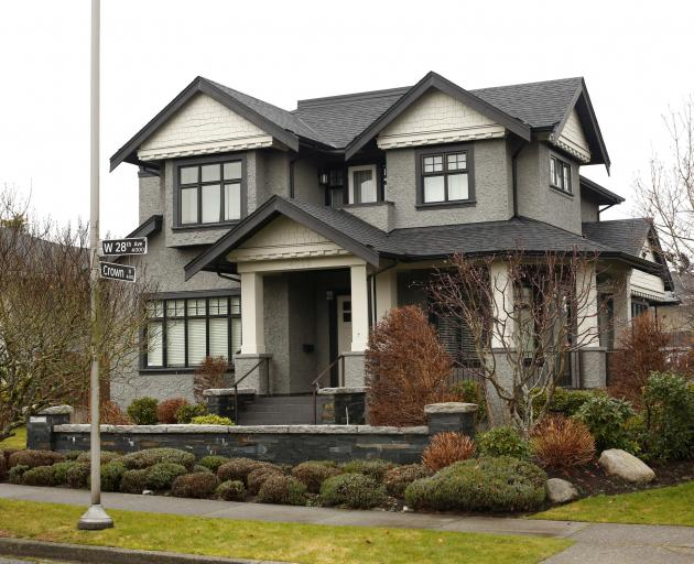 One of the homes owned by Meng Wanzhou's family. Photo: Reuters