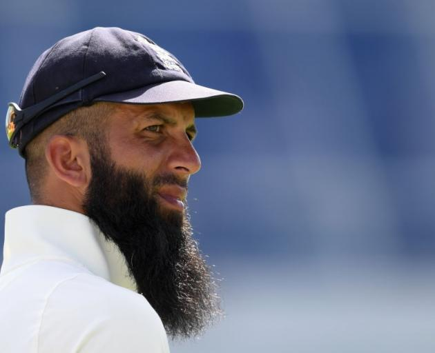 "England's Moeen Ali: ""It's time for people to behave themselves"". Photo: Getty Images"