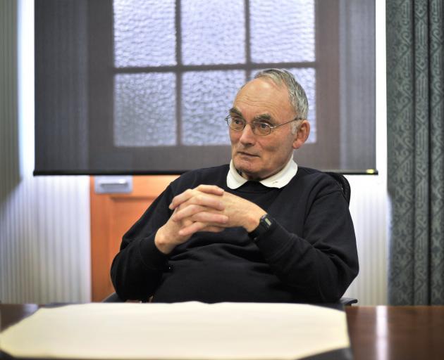 Monsignor John Harrison. Photo: Christine O'Connor