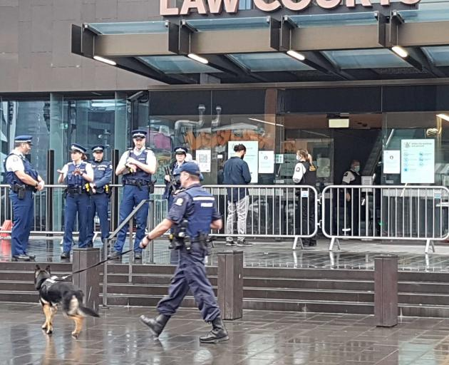 The sentencing in Christchurch is expected to take most of the week. Photo: Star News