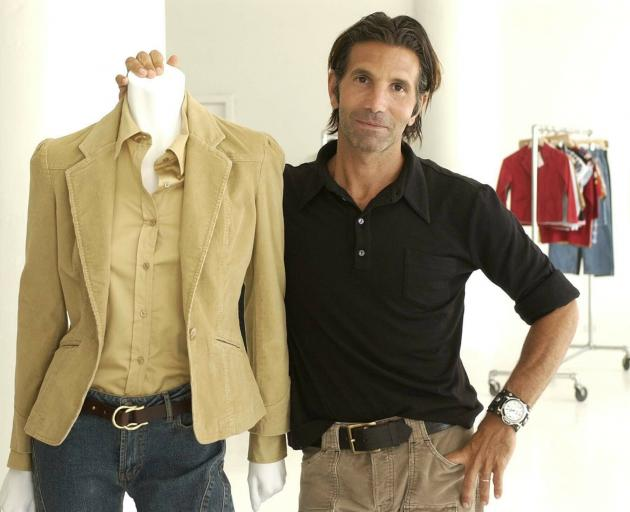 File photo shows Los-Angeles based clothing designer Mossimo Giannulli. Photo: AP