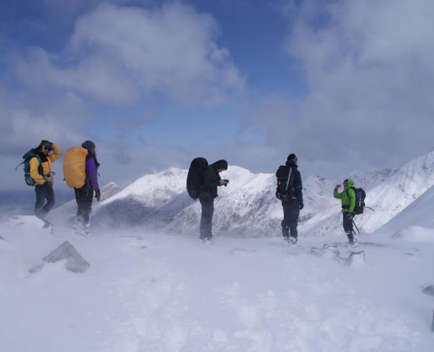 Plenty of snow, but no skiers on Mt Luxmore today. Photo: Alina Suchanski