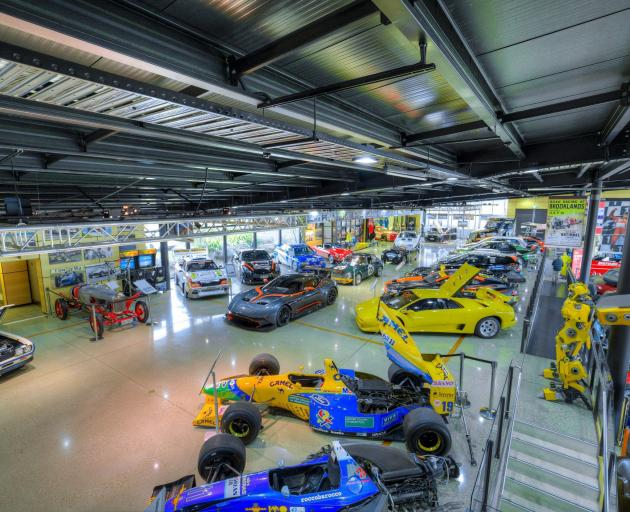Cromwell's Highlands Motorsport Park displays vehicles of all makes and ages and a spin round the...