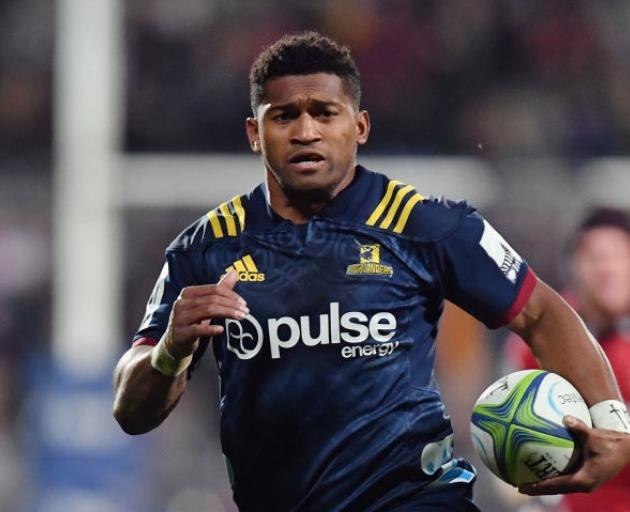 Waisake Naholo will start on the right wing for the Highlanders in Cape Town. Photo: Getty Images