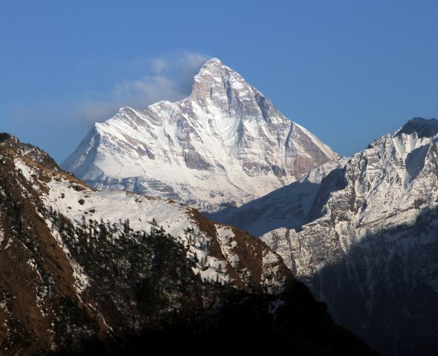 Nanda Devi is India's second highest mountain. Photo: Reuters