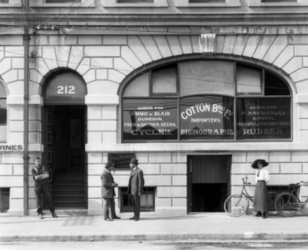 The NG building in the early 1900s. Photo: Supplied