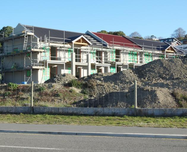 Construction is progressing on an accommodation complex at Oamaru Harbour, being developed by...