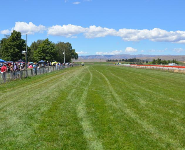 The Omakau races were rescheduled after a malfunctioning sprinkler caused a section of track to...