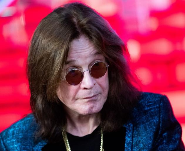 Ozzy Osbourne was hospitalised for pneumonia. Photo: Getty Images