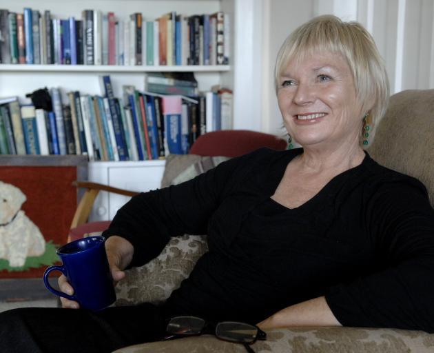 Dunedin-based writer Paddy Richardson. Photo: Linda Robertson