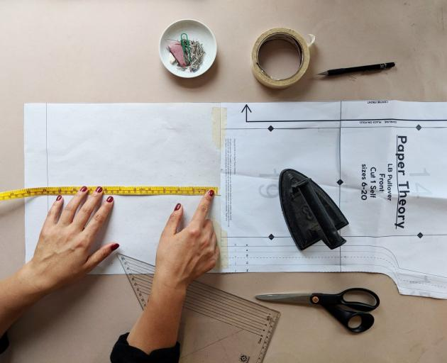 Blogger Tara Viggo's website Paper Theory shows home sewers the art of pattern cutting. Photo:...