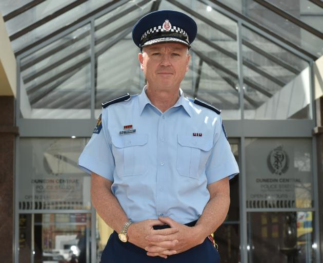 Paul Basham, Police Southern District Commander. Photo: ODT files