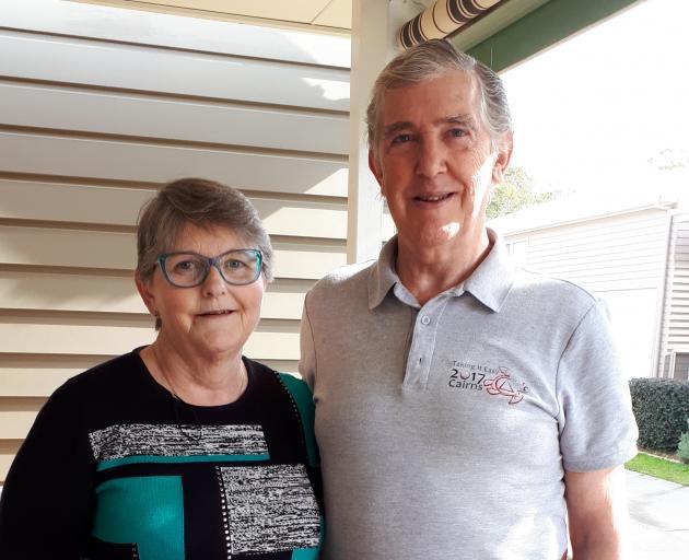 Paula and her husband David. Photo: supplied