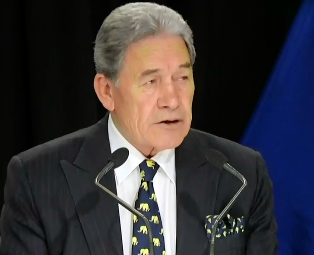 Winston Peters says it has been  NZ First policy and position to support and strengthen public...