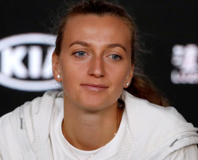 Petra Kvitova suffered severe wounds to her hand and took 18 months to return to tennis. Photo:...