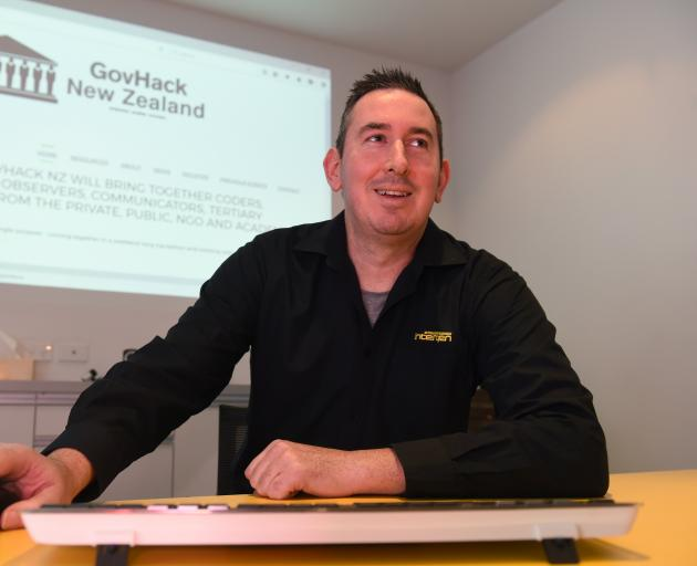 Dunedin organiser Phil Wheeler says the city's upcoming GovHack event is a chance to '...