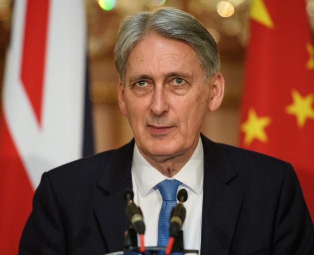 Philip Hammond supported staying in the EU before the 2016 referendum. Photo: Reuters