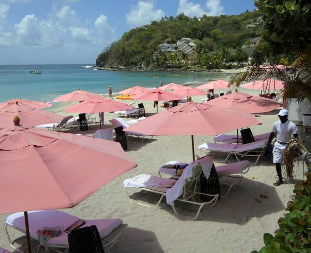 The beach at Body Holiday St Lucia.