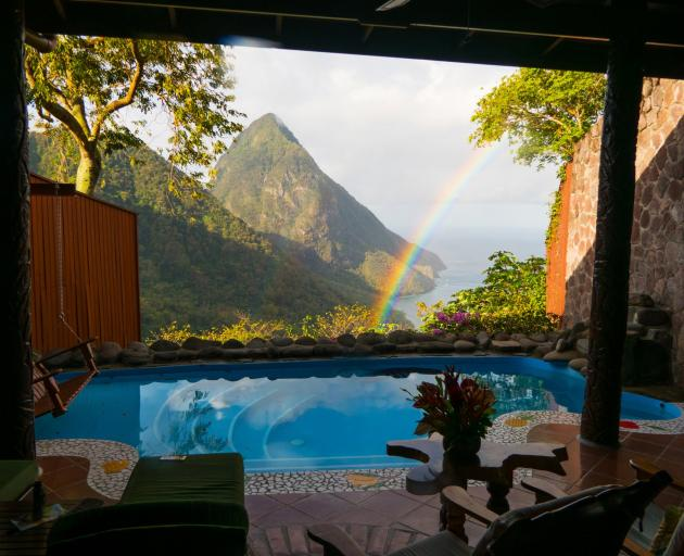 We never got tired of the amazing view fromour room at Ladera Resort, which was beautifully...