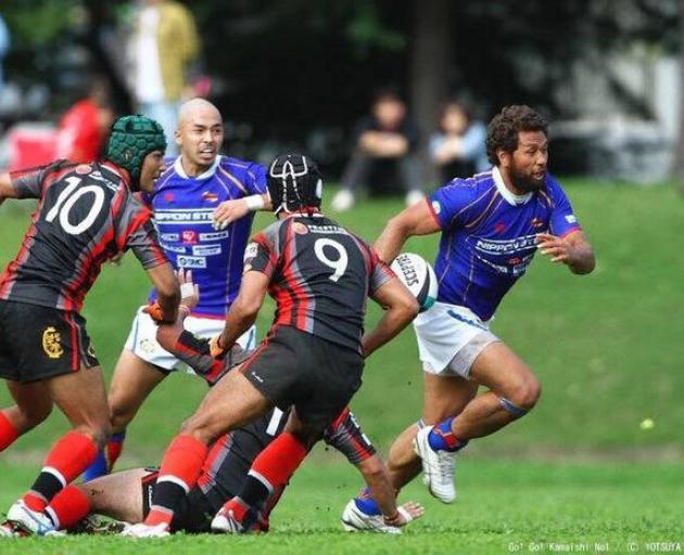 Pita Alatini in action for the Seawaves. Photo: Supplied via NZME