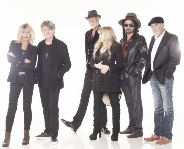 The current Fleetwood Mac lineup. Photo: Supplied