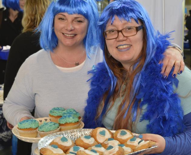 University of Otago staff member Jo Preston (left) and student Eeva Kumpula  took part in the...