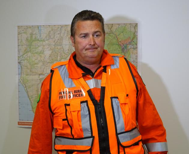 Otago Rural Fire Authority Incident Controller Phil Marsh says there's still a lot of work to do....