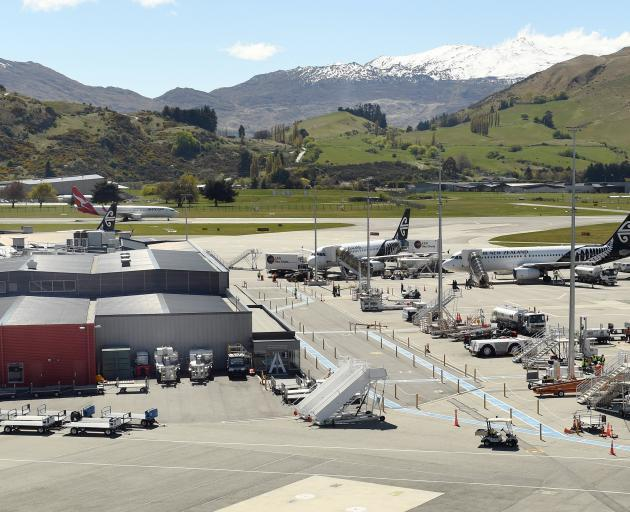 Police spoke to the Australian students at Queenstown Airport. Photo: ODT files