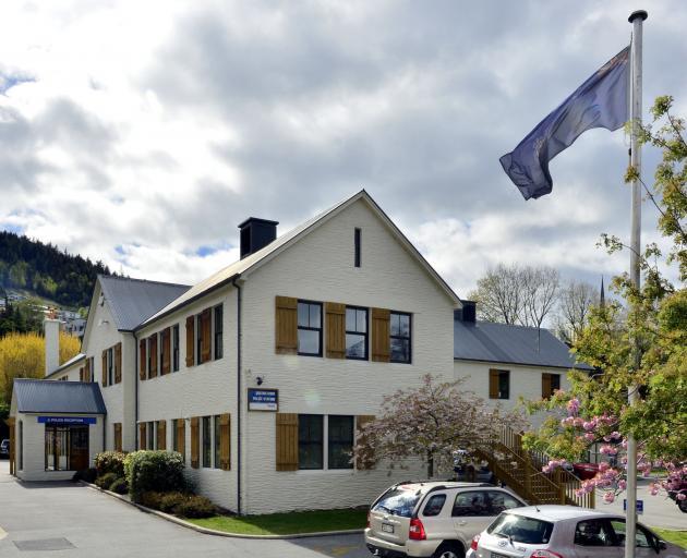 Queenstown police station  photo: Gerard O'Brien