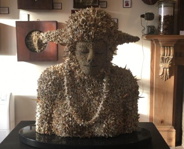 Quirky sculptures in Museum of Natural Mystery. Photo: The South Today