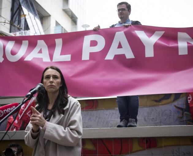 Labour leader Jacinda Ardern says political unity is needed on the equal pay issue. Photo: NZ...