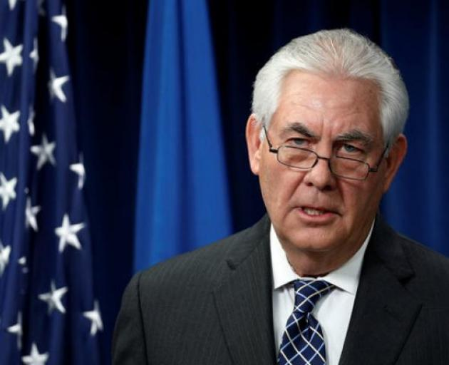 US Secretary of State Rex Tillerson. Photo: Reuters