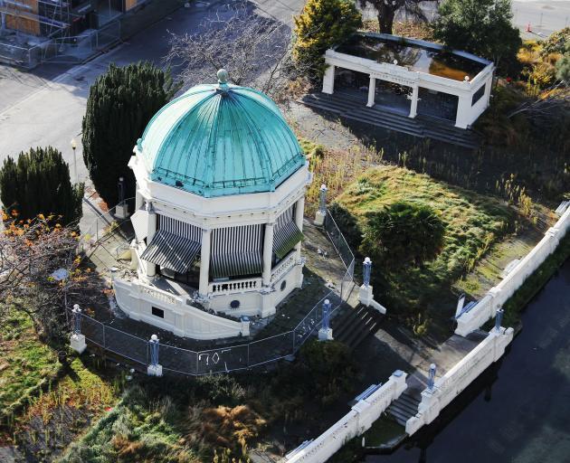 The rotunda in 2012. Photo: Geoff Sloan