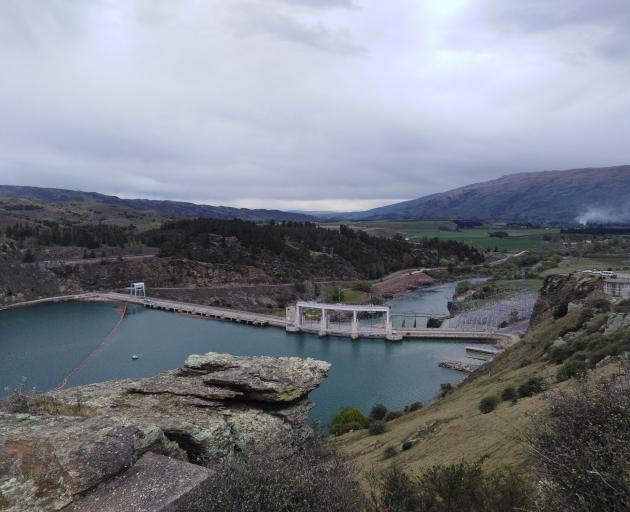 The Roxvburgh Dam.  PHOTO: REBECCA FOX