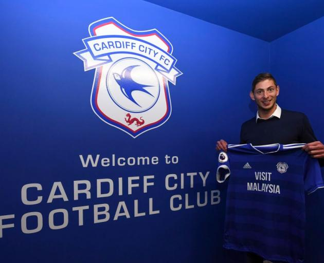 Sala joined Premier League strugglers Cardiff from FC Nantes last week for a club record fee of...