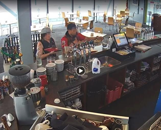 Two individuals have been caught on CCTV stealing a tip-jar from New Brighton restaurant Salt On...